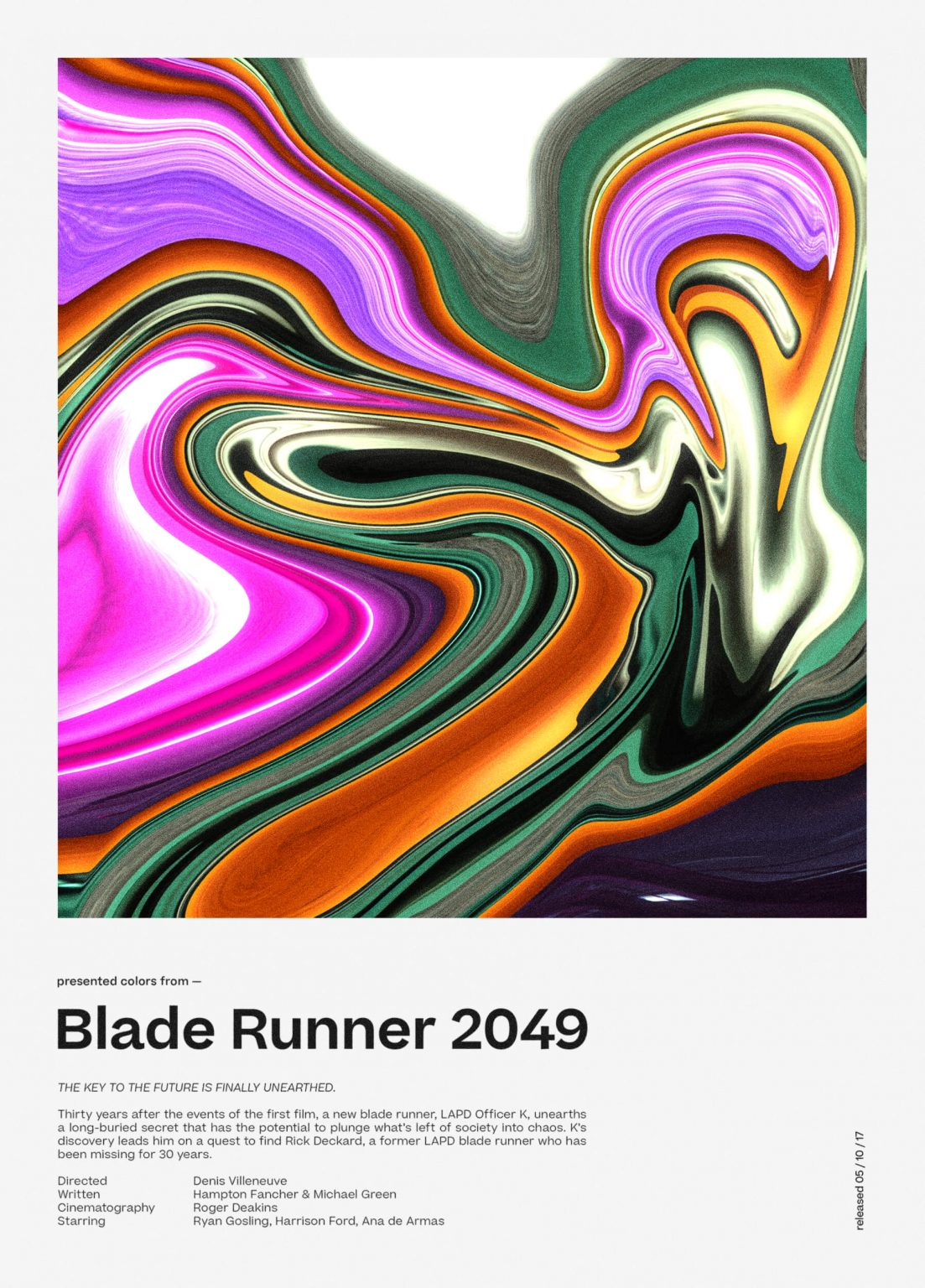 Niklas Beab Blade Runner 2049 Poster Design