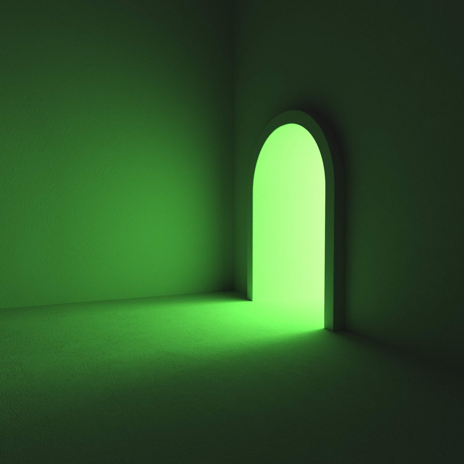 Niklas Beab Green Room 3D Design