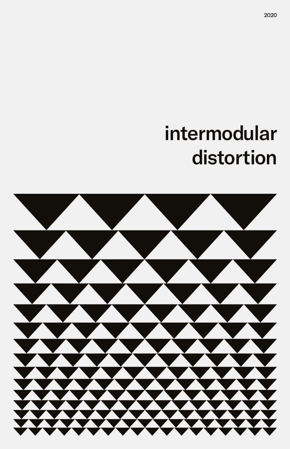 Niklas Beab Intermodular Distorion Poster Design