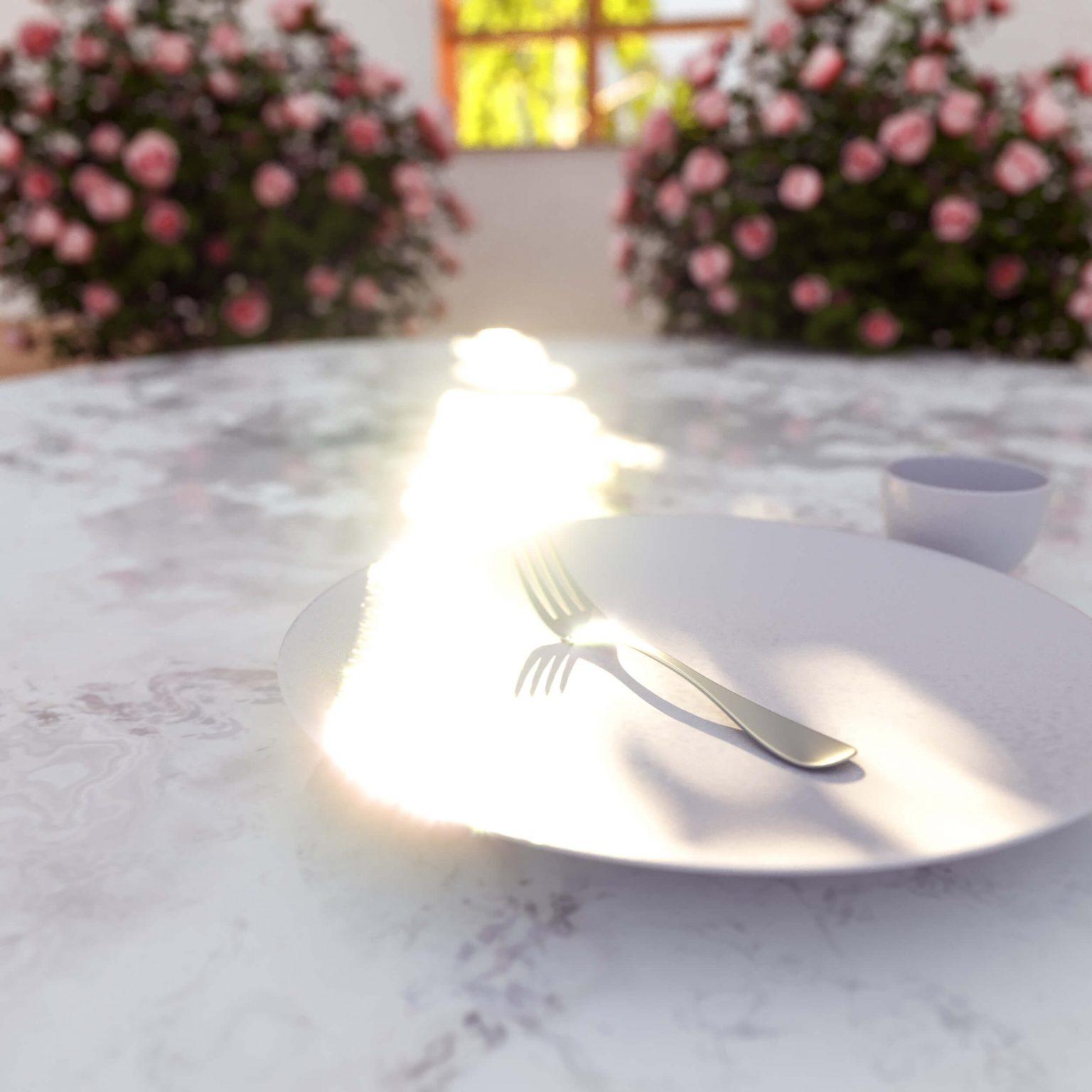 Niklas Beab Table Scene 3D Design