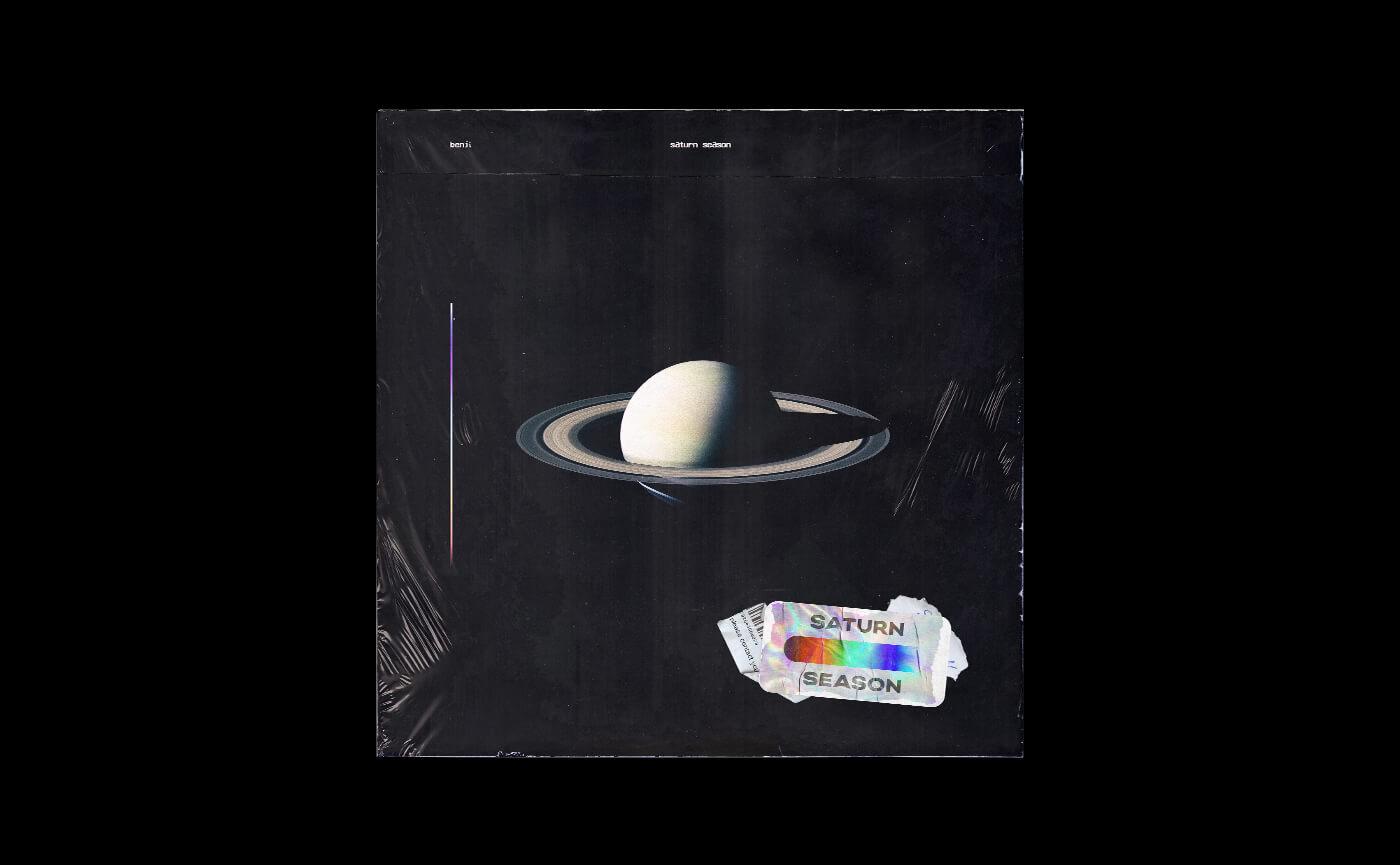 Niklas Beab Cover Artwork Saturn Season Mockup