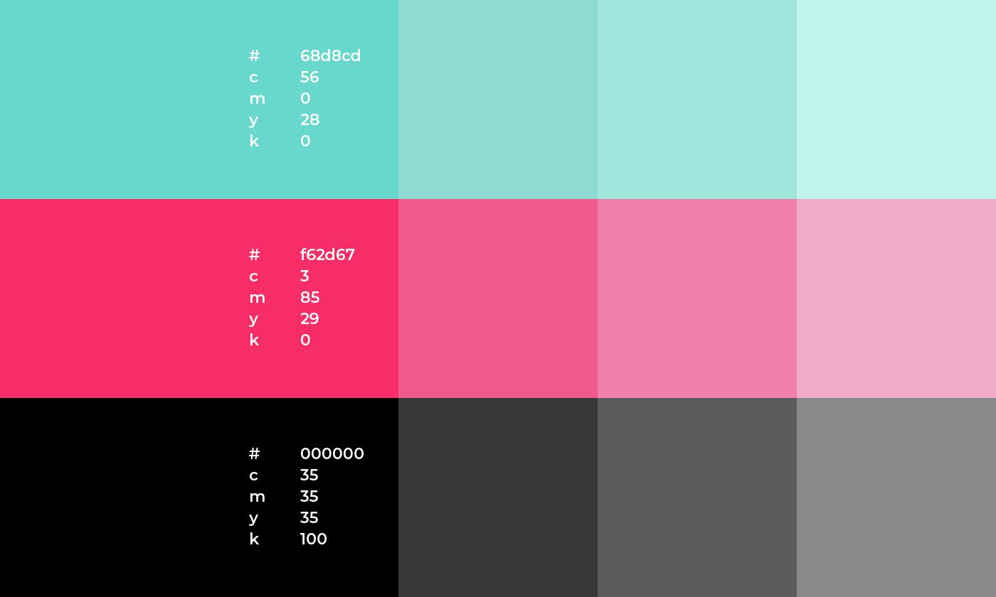 Niklas Beab Joboo Branding Colors